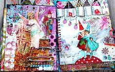 http://www.couleursetmixedmedia.com/article-art-journal-les-derniers-jours-113863925.html
