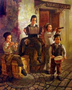 Jewish paintings - Pinterest