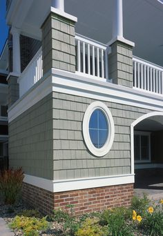 Considering this Vinyl siding to replace old light yellow vinyl siding. Our roof is very good grade metal in a Caribbean green color. Vinyl Shake Siding, Cedar Shake Siding, Shingle Siding, House Siding, House Paint Exterior, Exterior Siding, Exterior House Colors, Cedar Shakes, Certainteed Vinyl Siding