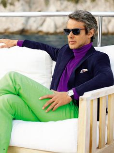 This is a bold look to pull off! Not for me... RALPH LAUREN PRIMAVERA 2015