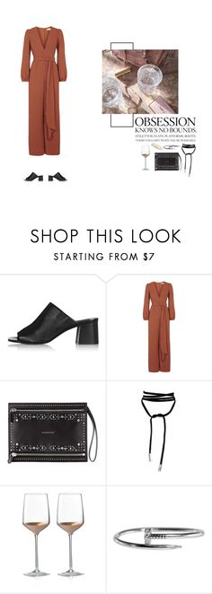 """""""Fall Wedding: Jumpsuit"""" by nudenim on Polyvore featuring Topshop, Givenchy, Wedgwood and Herbivore"""