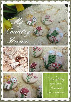 fairy buttons... www.mycountrydream.com