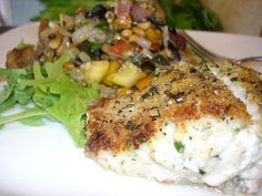 Eating Seattle: Eating In: Herb-crusted ling cod