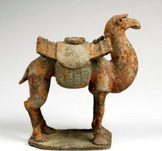 Camel figure, Chinese, c. 380-535 CE    Carnegie Museum of Art, Pittsburgh, Currently not on view