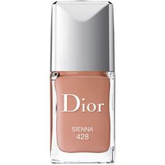 Dior Vernis Gel Shine & Long Wear Nail Lacquer featuring polyvore, beauty products, nail care, nail polish, beauty, nails, makeup, cosmetics, sienna, gel nail color, christian dior, shiny nail polish, gel nail polish and glossy nail polish