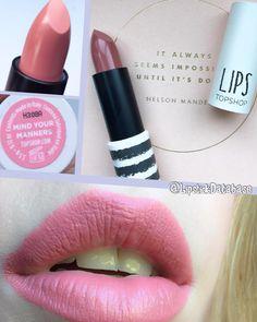 @LipstickDatabase on Instagram: Topshop lipstick in Mind Your Manners