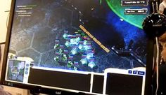 """""""Play Starcraft Using Your Eyes With This Eye-Tracker"""" -- Click through for video."""