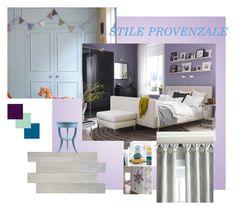 """""""Camera da letto"""" by donatella-lo-presti on Polyvore featuring interior, interiors, interior design, Casa, home decor, interior decorating, SomerTile e Austin Horn En'Vogue"""