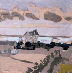 Édouard Vuillard /  La Villa Les Écluses, St. Jacut, Brittany, 1909