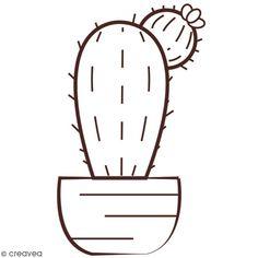 Compra nuestros productos a precios mini Sello de madera - Cactus - 6,2 x 4,4 cm - Entrega rápida, gratuita a partir de 89 € !