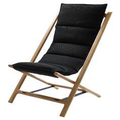 Arenzano tuoli, musta