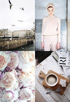 Moodboard | Pastel Pink & Earthy Tones - CHRISTINA GREVE