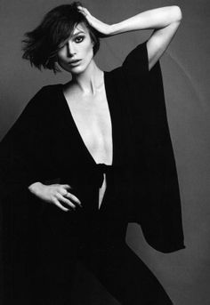 Keira Knightley for Elle UK by Terry Tsiolis