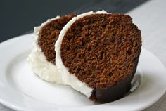 Pumpkin Stout Gingerbread with Cream Cheese Frosting