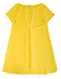 HÖÖ DESIGN: AINI tunika, keltainen Short Sleeve Dresses, Dresses With Sleeves, Design, Fashion, Moda, Sleeve Dresses, Fashion Styles, Gowns With Sleeves