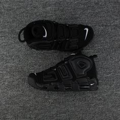 online store c03a8 18b4e Legit Cheap Supreme x Nike Air More Uptempo Black Black-White 902290-001  Nike