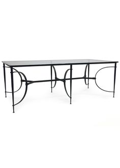 Fisher Garden Table (#820) by Dessin Fournir | Dining Tables Garden | Dessin Fournir Companies
