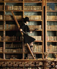 I have always dreamt of having a library…..
