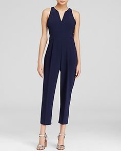 This beautiful crepe jumpsuit makes us feel totally in charge. #100PercentBloomies