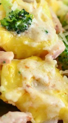 Cheesy Bacon and Broccoli Tortellini Pasta