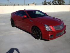 #Cadillac CTS-V Coupe 2012 #Carros