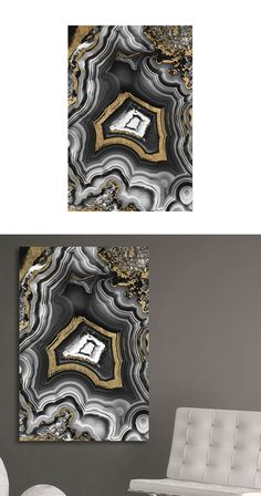 Brilliantly designed, this art piece is perfect for a lover of geology or a modern art enthusiast. With its beautiful geode-inspired abstract black, silver, and gold design, this piece will easily elev... Find the Pure Luster Art Print, as seen in the Moods of #Indigo Collection at http://dotandbo.com/collections/moods-of-indigo?utm_source=pinterest&utm_medium=organic&db_sku=113710