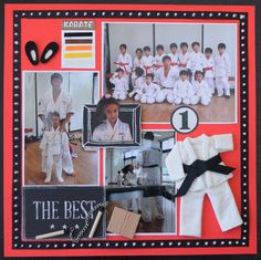 karate - Scrapbook.com