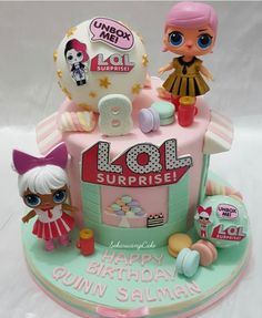 LOL Surprise Dolls Birthday Cake