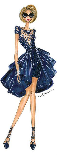 Fashion Illustration, Zuhair Murad