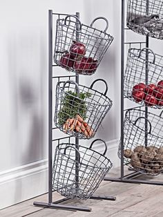 Wire Tier Baskets- Small