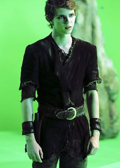 Robbie Kay.  We so need to see more of him.  He was great as Peter Pan.