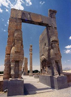 Persepolis - Iran. I hope to visit this beautiful land someday