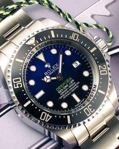DeepBlue 116660 Rolex DeepSea D-Blue Dial How do You like this one?!?