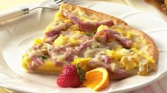 Brunch, lunch or with a bowl of soup for supper, enjoy a pizza with extra pep.