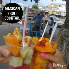 """Nothing says """"HELLO SPRING and SUMMER"""" like a Mexican Fruit Cocktail. Finally, all my favorite fruits are back in season and ready for the pickin'."""