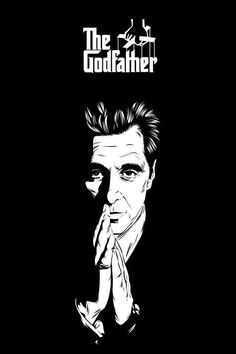 iPhone 5 Wallpaper Al Pacino - The iPhone Wallpapers The Godfather Poster, The Godfather Wallpaper, Godfather Movie, Al Pacino, Der Pate Poster, Shire, Coppola, Gangster Movies, Rock Poster