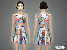 -April-'s Wildlife – outfit | Sims 4 Updates -♦- Sims Finds & Sims Must Haves -♦- Free Sims Downloads