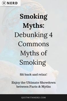 4 common myths of smoking debunked! Stop falling into the traps of nicotine and start seeing the truth as it is. Sit back and find out the facts here. Ways To Stop Smoking, Quit Smoking Tips, Nicotine Withdrawal, Nicotine Addiction, Symptoms Of Quitting Smoking, Quit Smoking Timeline, Smoking Facts, Quit Smoking Motivation, Smoke Tricks