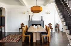 See More of Seth Meyers' Home Designed by Ashe Leandro