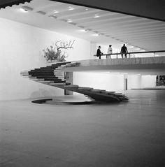 Palácio do Itamaraty, Brasília - Oscar Niemeyer, foto de Marcel Gautherot