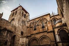 March 29th - The Church Of The Holy Sepulchre, Jerusalem, Israel * Completed in A.D. 335, the Church of the Holy Sepulchre is on the site where Jesus is buried and where he is believed to have been crucified.  Pilgrims approach every day by the mile-long Via Dolorosa, Jesus' path as he carried the cross to his execution.  Today's Good Friday services have special significance.