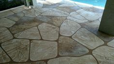 Pool Deck Resurfacing in Cape Coral and Fort Myers FL.  msdcurbing.com See Decorative Concrete idea and get a Free Estimate  (239) 910-3665