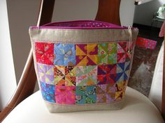 Looking for sewing project inspiration? Check out pouch /Kaffe Fassett by member Pidadima. - via @Craftsy