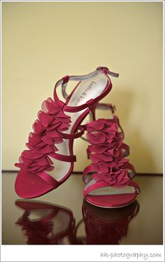Wedding Shoes - Red
