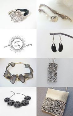 November gifts for Her - Finest Silver addiction by Inese on Etsy--Pinned with TreasuryPin.com