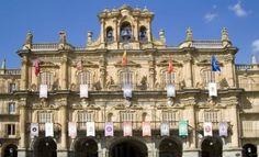 Stadhuis (City Hall) Salamanca (Spanje (Spain)