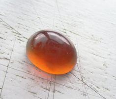 Natural Amber from Sumatra Indonesia Cabochon Loose by GemoGemArt