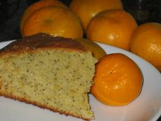 tangerine and poppy seed cake