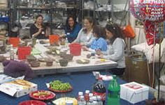 Have a great time with your friends at BrickHouse. Kids Party Venues, Clay Classes, Wheel Throwing, Long Island City, Pottery Classes, Ceramic Studio, Ceramic Artists, Queens, Ceramics
