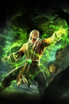 Shang Tsung: is a shapeshifter who needs to consume souls in order to sustain his health and life. In the Mortal Kombat series, he is the epitome of cunning and decadence, as symbolized by his preference for lavish parties, grand palaces, and stylish clothing. Unlike the crude Shao Kahn, this bombast is a facade, disguising Tsung's true intellectual and mental sophistication.